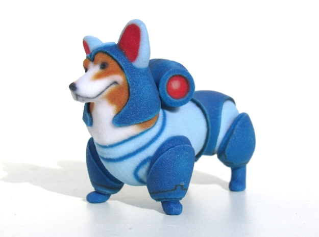 Mega Corgi in Full Color Sandstone
