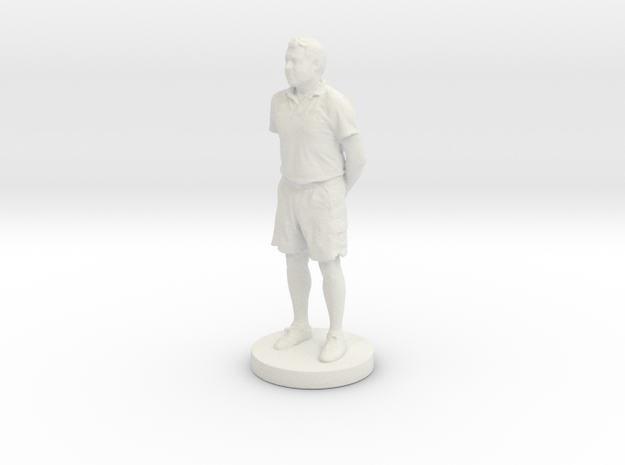 Printle C Homme 322- 1/24 in White Natural Versatile Plastic