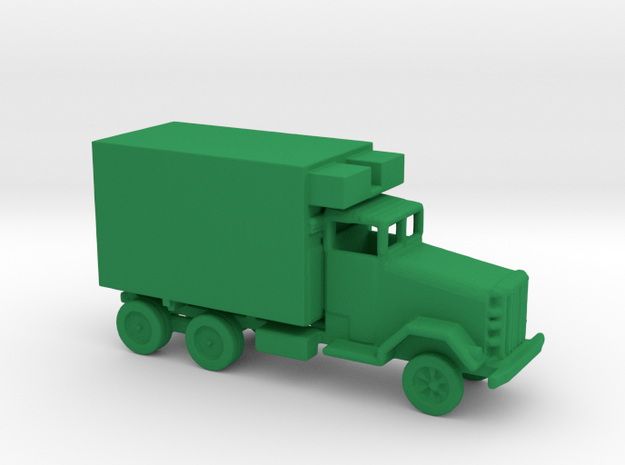 1/200 Scale M488 truck, missile repair parts, PGM- in Green Strong & Flexible Polished