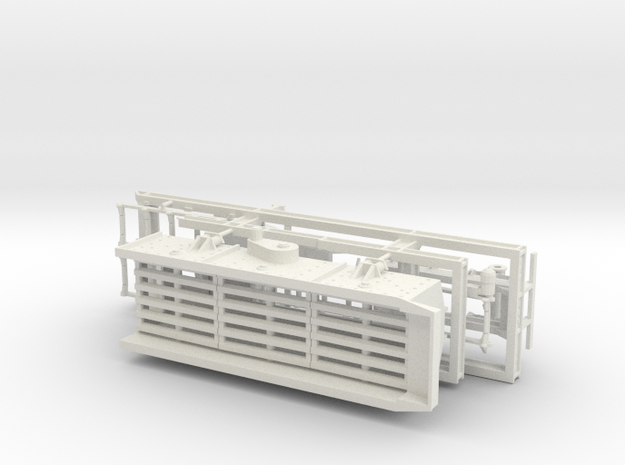 1/50th Portable Screen Plant in White Natural Versatile Plastic