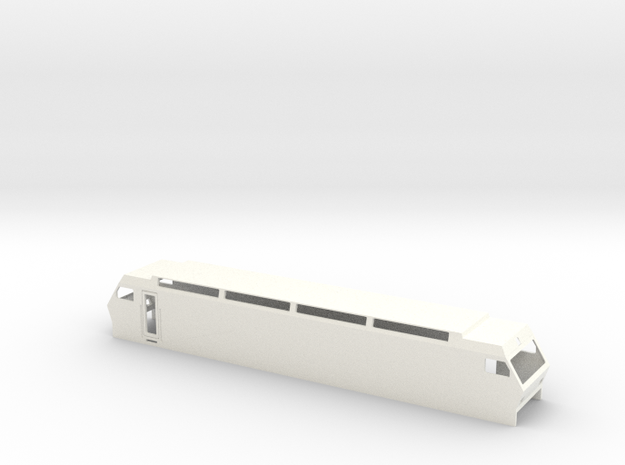 BT SOB Schweiz Re456 Scale TT in White Processed Versatile Plastic