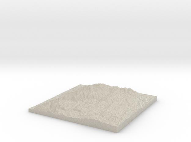 Model of Hunsaker Corral in Natural Sandstone