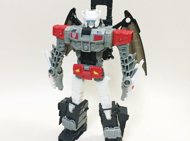 TR: Twinferno thigh add-on in White Processed Versatile Plastic