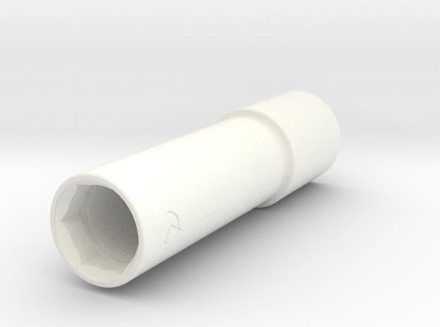 SBIOHA15 PK X6 in White Processed Versatile Plastic