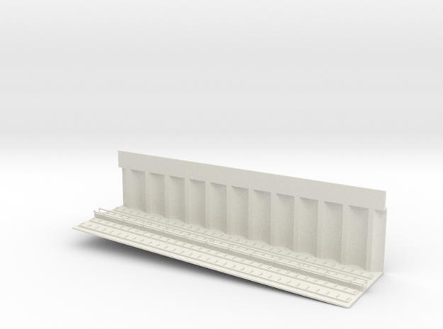 MARKET SUBWAY EL INCLINE 6 PT1 HO SCALE in White Natural Versatile Plastic