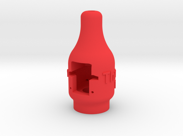Thrust-0-Meter in Red Processed Versatile Plastic