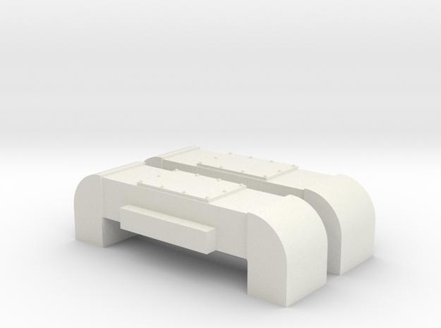 Horst Air Filter (Round) (G - 1:29) 2X in White Natural Versatile Plastic