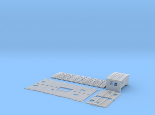 MKT 100-124 Extended Vision Caboose Body Kit