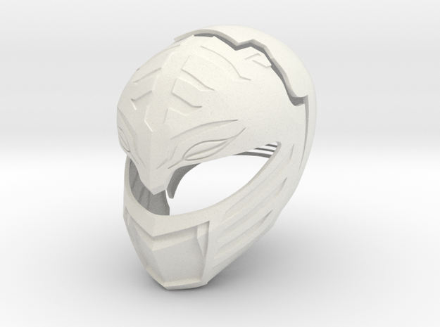 MMPR White Ranger Movie Helmet
