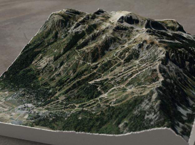 Jackson Hole, Wyoming, USA, 1:25000