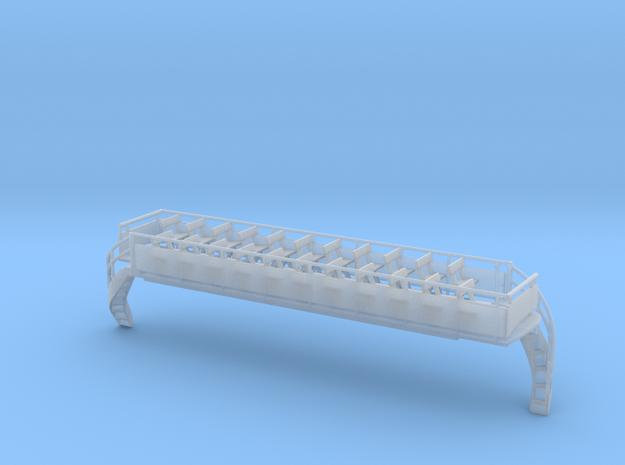 Blackpool Lancaster Upper Deck Open Conduit OO sca in Smooth Fine Detail Plastic: 1:76 - OO