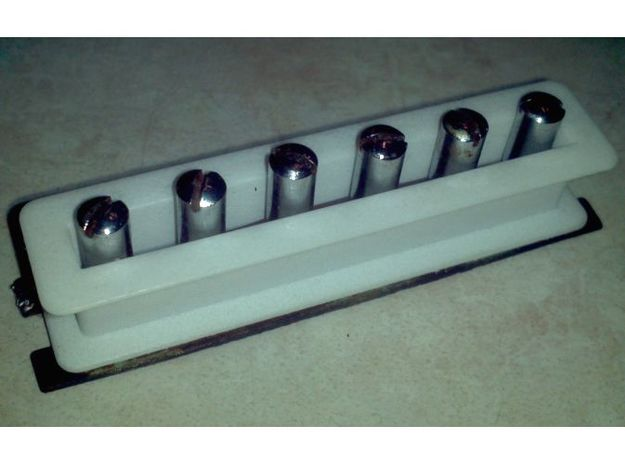 1802T Pickup Bobbin in White Strong & Flexible Polished