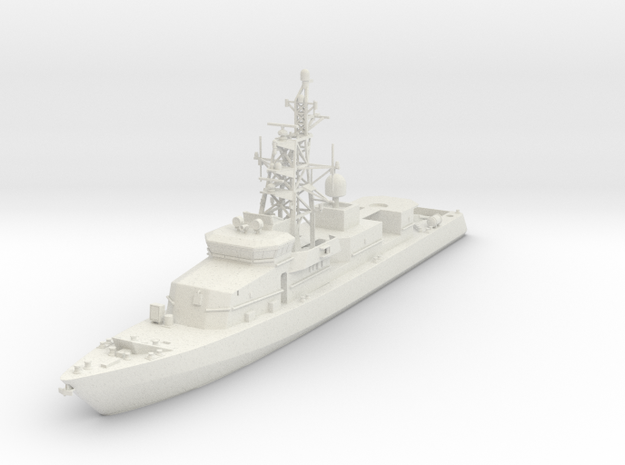1/100 (15mm) USS CYCLONE PC in White Natural Versatile Plastic