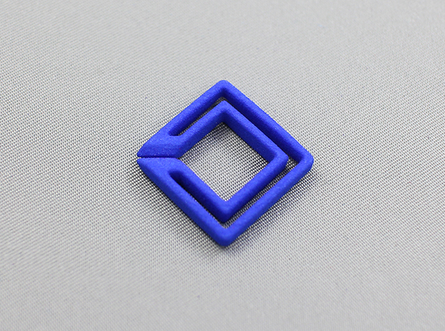 square chain 3d printed for detail check