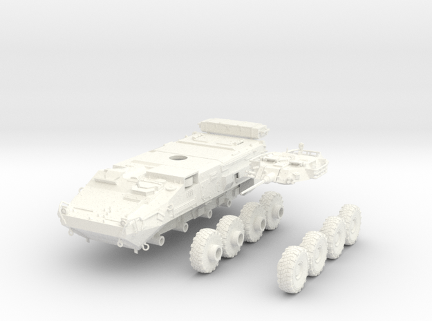 Canadian Army LAV III 1:50 in White Processed Versatile Plastic