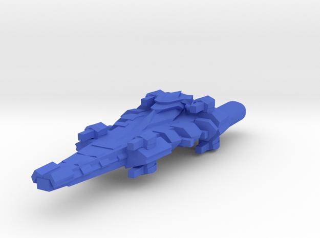Colour Rim Bastion Destroyer in Blue Processed Versatile Plastic