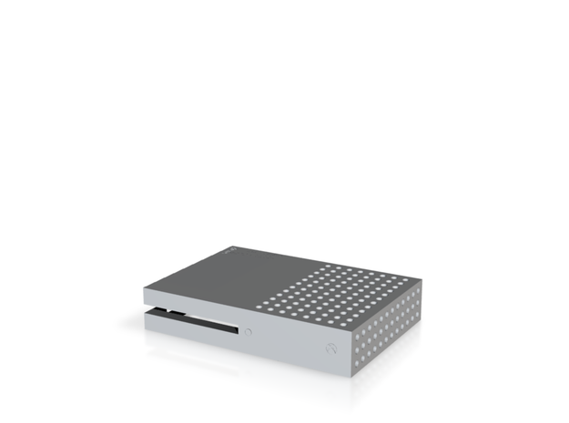 Raspberry Pi Xbox One S Case(Top) in White Strong & Flexible
