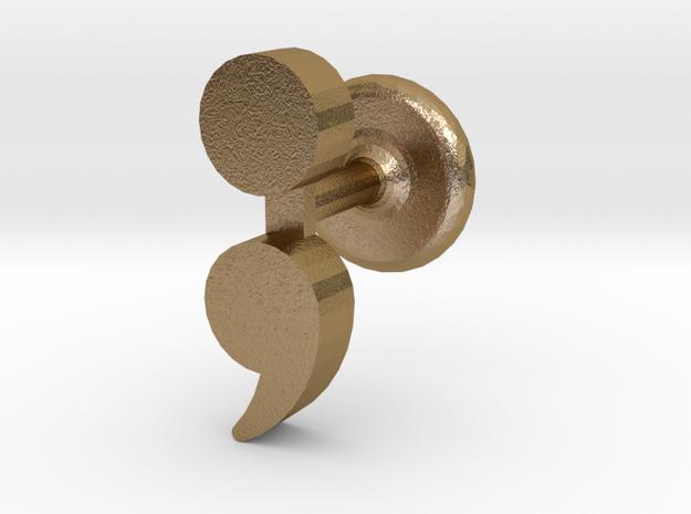 Semicolon Cuff Links
