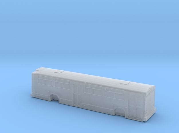 N scale GM/MCI/nova classic bus 2 door in Smooth Fine Detail Plastic