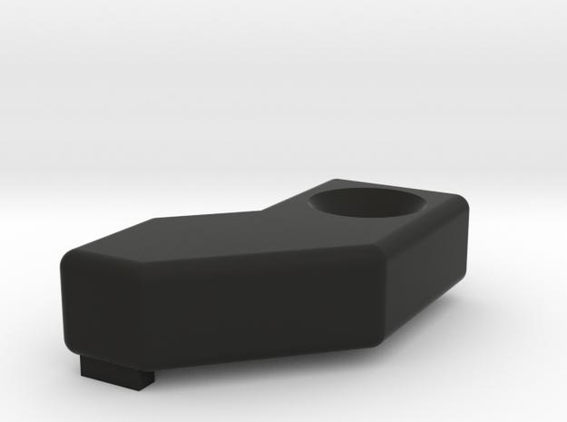 Deranged PTS Masada Deflector in Black Natural Versatile Plastic