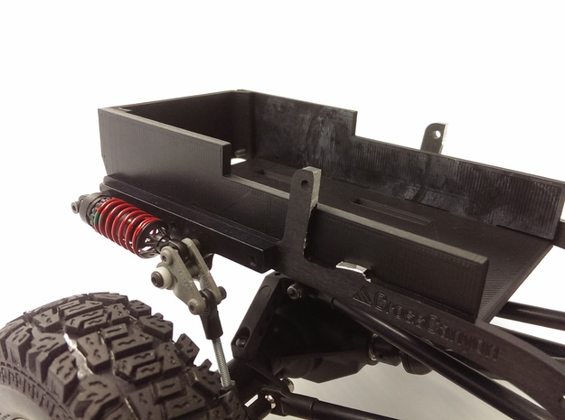 CrossCanyon JKU Battery Tray in Black Natural Versatile Plastic