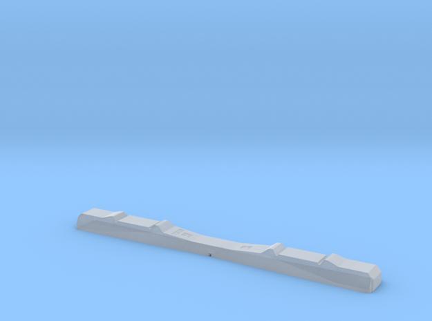 Betonschwelle Spur 0 für Hassler-Gleissystem in Smooth Fine Detail Plastic