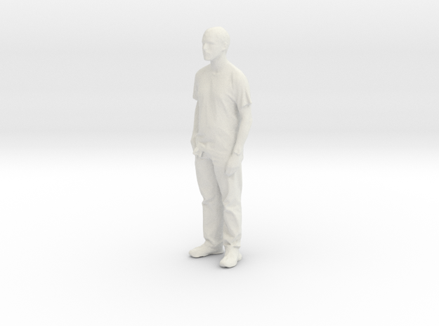 Printle C Homme 028 - 1/24 - wob in White Natural Versatile Plastic
