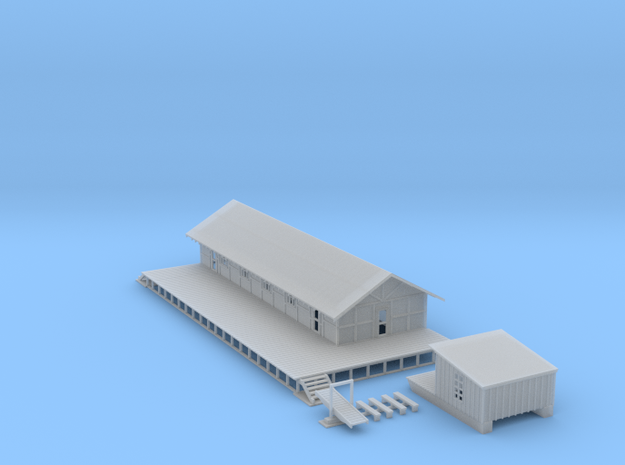 Logging Building Z Scale