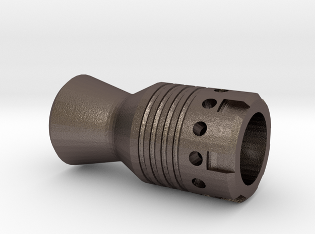 MG42 airsoft gun muzzle in Stainless Steel: Small