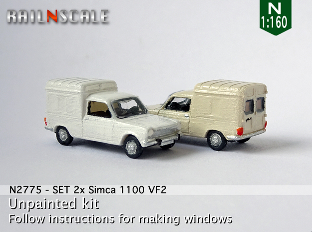 SET 2x Simca 1100 VF2 (N 1:160)
