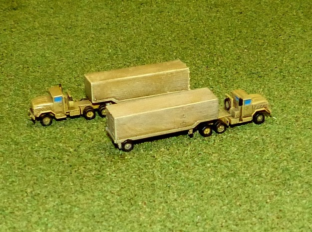 US M932 Semi-Truck w. M1032 / M 373 Trailer 1/285