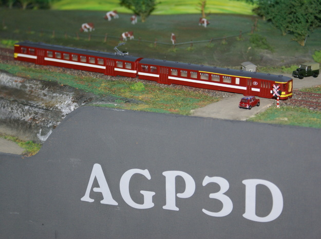 ref : AM009a    N AM66 Double 1panto 161021 in Frosted Ultra Detail