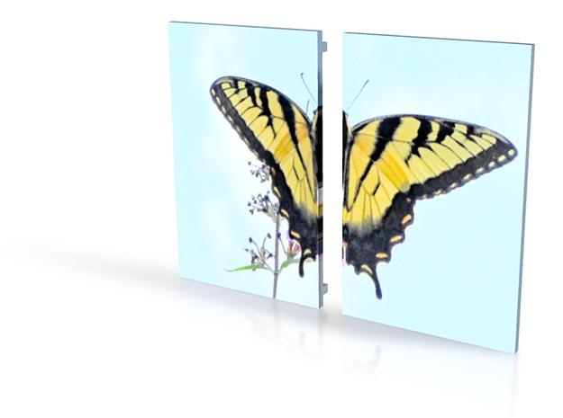 Butterfly Box Split Lid 4in 3d printed