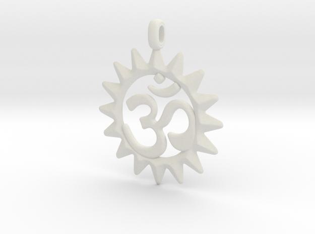 OM Symbol Jewelry Pendant