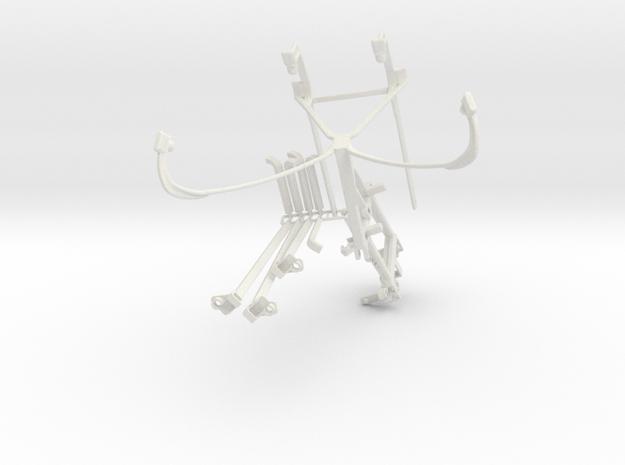 Controller mount for Shield 2015 & Bike Mount - Fr in White Natural Versatile Plastic