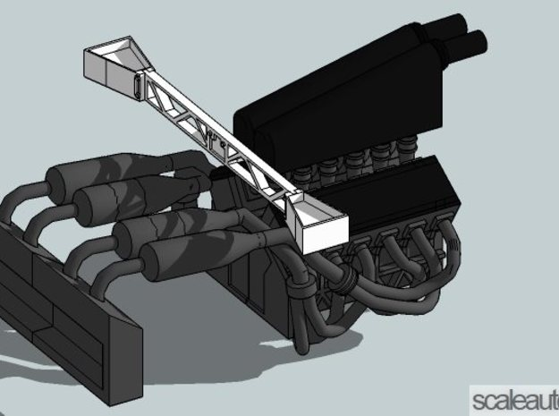 Mclaren F1 Engine V2.1 for Fujimi Scale 1/24 Kit 3d printed