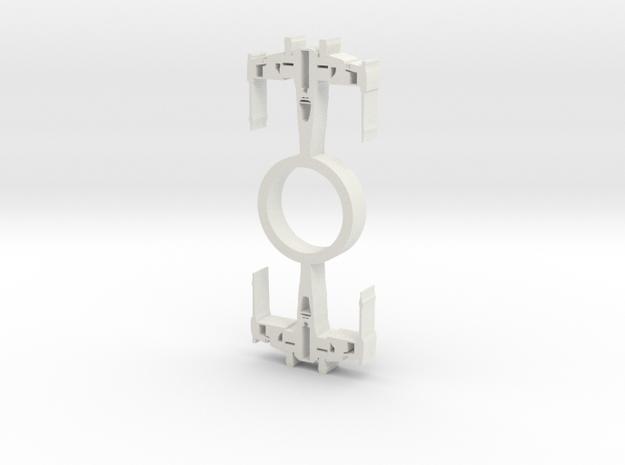 Xwing Fidget Spinner in White Natural Versatile Plastic