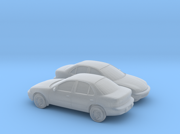 1/160 2X 1998 Chevrolet Cavalier Sedan in Frosted Ultra Detail