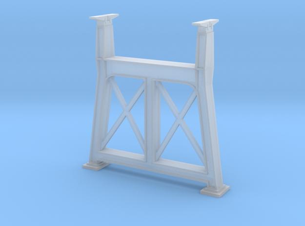 Hoogespoorbrug-tussenpijler in Smooth Fine Detail Plastic