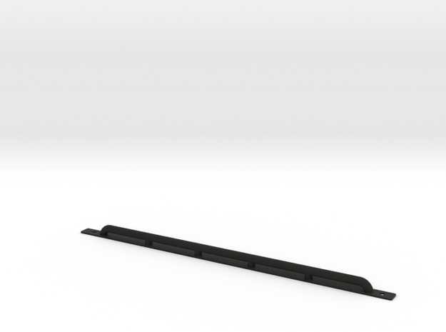 Rock Protection Side Bar D110 Team Raffee in Black Natural Versatile Plastic