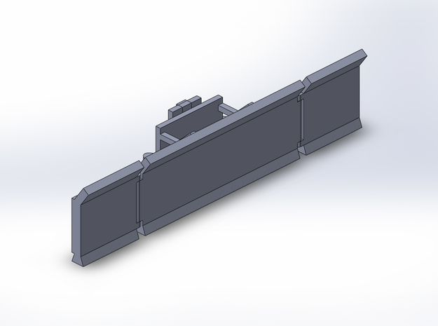 1:160/N-Scale Maize Leveller in Smooth Fine Detail Plastic