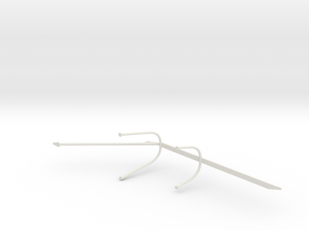 Type VII Netcutter 1:60 in White Natural Versatile Plastic