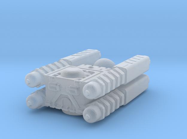 Quad Cannon in Smoothest Fine Detail Plastic