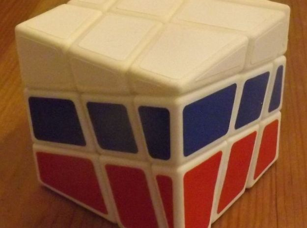 National Cube in White Strong & Flexible