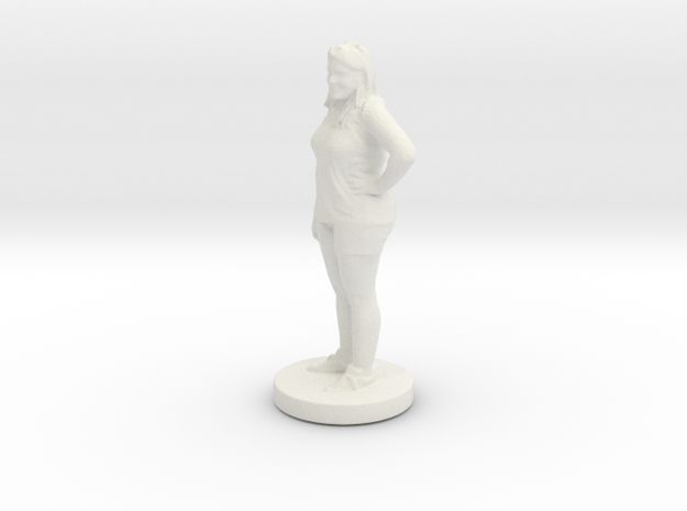 Printle C Femme 102 - 1/43 in White Strong & Flexible