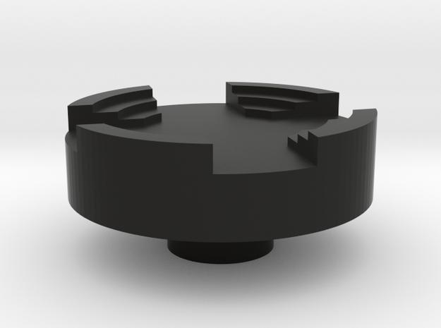 DMS switch knob - Stadium in Black Natural Versatile Plastic