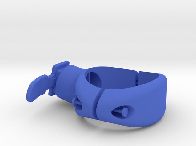 Bontrager Flare/RT 34mm Seat Post Mount in Blue Processed Versatile Plastic