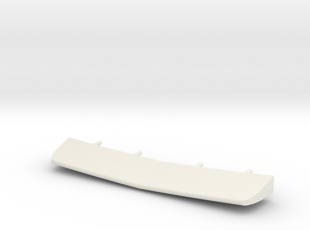 1/72 scale Burke Stern Flap in White Strong & Flexible
