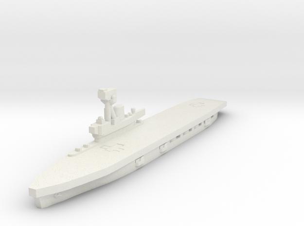 HMS Hermes 1/1800 in White Natural Versatile Plastic