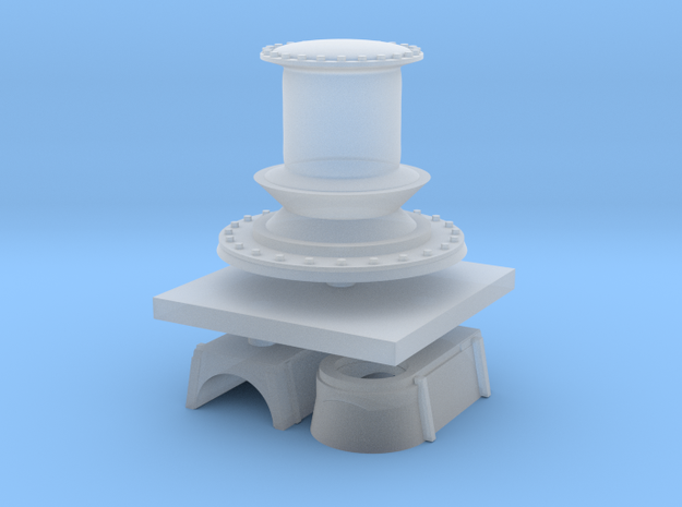 1:72 Navy Capstan in Frosted Ultra Detail